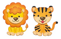 Elizabeth Craft Design Die - Lion Tiger EC1617