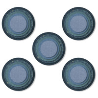 New! Sizzix Thinlits Die Set 25PK - Stacked Tiles Circles 664437