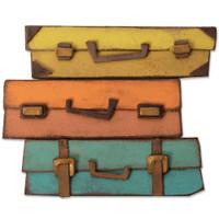 New! Sizzix Bigz Die - Baggage Claim 664439