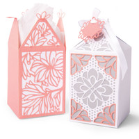 New! Sizzix Thinlits Elegant Favor Box 663690