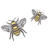 New! Sizzix Thinlits Die Set 4PK - Bee 663852