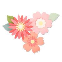 New! Sizzix Bigz Die - Bold Blossoms 663849