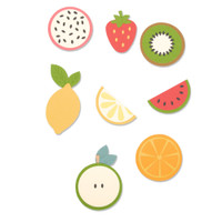 New! Sizzix Bigz Die - Fruit Shapes 663855