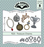 New! Karen Burniston - Treasure Charms 1123