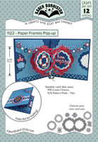New! Karen Burniston - Paper Frames Pop-up 1122