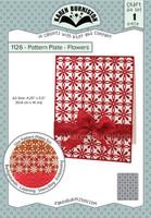 New! Karen Burniston - Pattern Plates - Flowers 1126