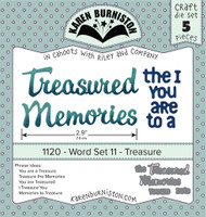 Karen Burniston - Word Set 11 - Treasure 1120