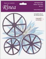 New! Rinea 3D Rolled Star Die Set