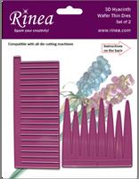 New! Rinea 3D Hyacinth Die Set