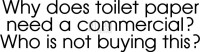 Riley and Co. Funny Bones - Toilet Paper RWD-381