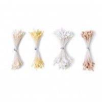 Sizzix Making Essential - Flower Stamens, White/Cream, Assorted Sizes, 400PK 664614