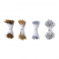 Sizzix Making Essential - Flower Stamens, Metallic, Assorted Sizes, 400PK 664616