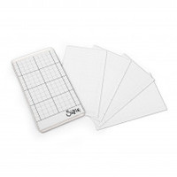 "Sizzix Accessory - Sticky Grid Sheets, 2 5/8"" x 4 5/8"", 5 Pack 663532"