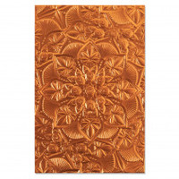 Sizzix 3-D Textured Impressions Embossing Folder - Floral Mandala 664405