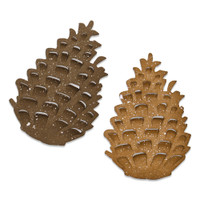 New! Sizzix Bigz Die - Pinecone by Tim Holtz 664756