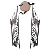 New! Sizzix Thinlits Die Set 9PK - Gate Keeper by Tim Holtz 664734