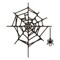 PreOrder New! Sizzix Thinlits Die Set 2PK - Spider Web by Tim Holtz 664747