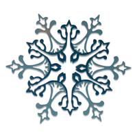 New! Sizzix Thinlits Die Set 2PK - Stunning Snowflake by Tim Holtz 664749