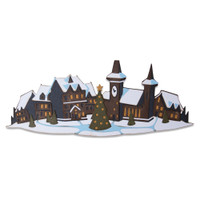 New! Sizzix Thinlits Die Set 7PK - Holiday Village, Colorize by Tim Holtz 664737
