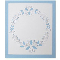 New! Sizzix Thinlits Die - Cut-Out Wreath 664578