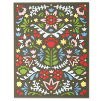 New! Sizzix Thinlits Die - Folk Mask 664478