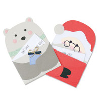 New! Sizzix Thinlits Die Set 20PK - Santa's Letter 664456