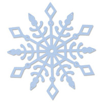 New! Sizzix Bigz Die - Snow Crystal 664464
