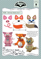 Oh Yeah! They're In! New! Karen Burniston - Animal Add-Ons 1 1139