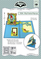 Oh Yeah! They're In!  New! Karen Burniston - Flip Frame Pop-Up 1134