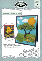 Oh Yeah! They're In! New! Karen Burniston - Landscape Scene 1141