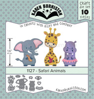 Oh Yeah! They're In! Karen Burniston - Safari Animals 1127