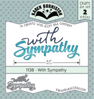 Oh Yeah! They're In! New! Karen Burniston - With Sympathy 1138