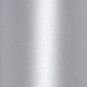 "New! ItsCheaperThanTherapy - Metallic Cardstock, 8 1/2"" x 11 "", 25 sheets Silver silmet"