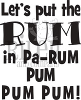 Riley and Co. Funny Bones- Let's Put The Rum RWD-847