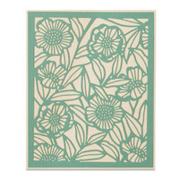 New! Sizzix Thinlits Die - Minimal Foliage 664498