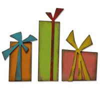 ]New! Sizzix Bigz Die - Gift Wrap by Tim Holtz 664973