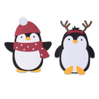New! Sizzix Bigz Die - Penguin Friends 664499