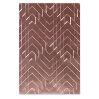 New! Sizzix 3-D Textured Impressions Embossing Folder - Staggered Chevrons 664761