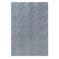 New! Sizzix 3-D Textured Impressions Embossing Folder - Tileable 664764