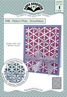 Oh Yeah! They're In! New! Karen Burniston - Pattern Plate Snowflake 1148