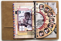 Elizabeth Craft Design Die - Planner Essentials 32 - Viewmaster 1807