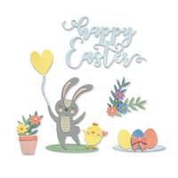Thinlits Die Set 13PK - Easter Icons by Lisa Jones