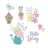 Thinlits Die Set 16PK - Hello Spring by Olivia Rose 665091