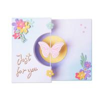 Thinlits Die Set 14PK - Butterfly Spinner Card by Georgie Evans