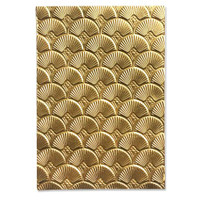 3-D Textured Impressions Embossing Folder - Art Deco by Kath Breen