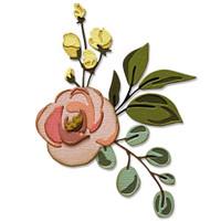 Sizzix Thinlits Die Set 18PK - Bloom Colorize by Tim Holtz 665208