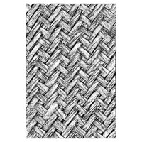 3-D Texture Fades Embossing Folder - Intertwined by Tim Holtz