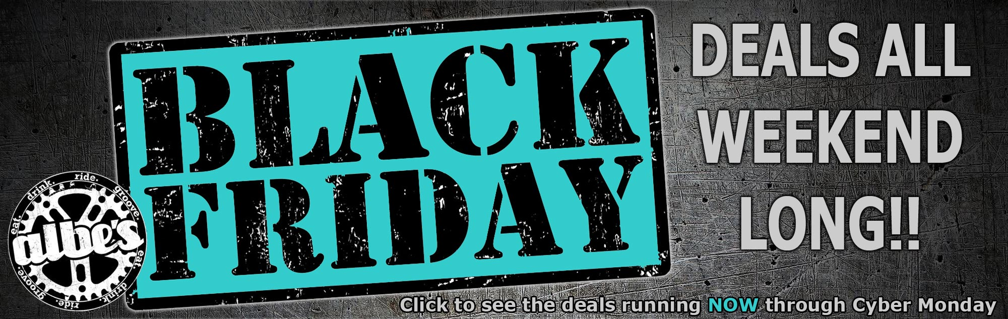 Black Friday Sales on BMX bikes and parts at Albe's BMX