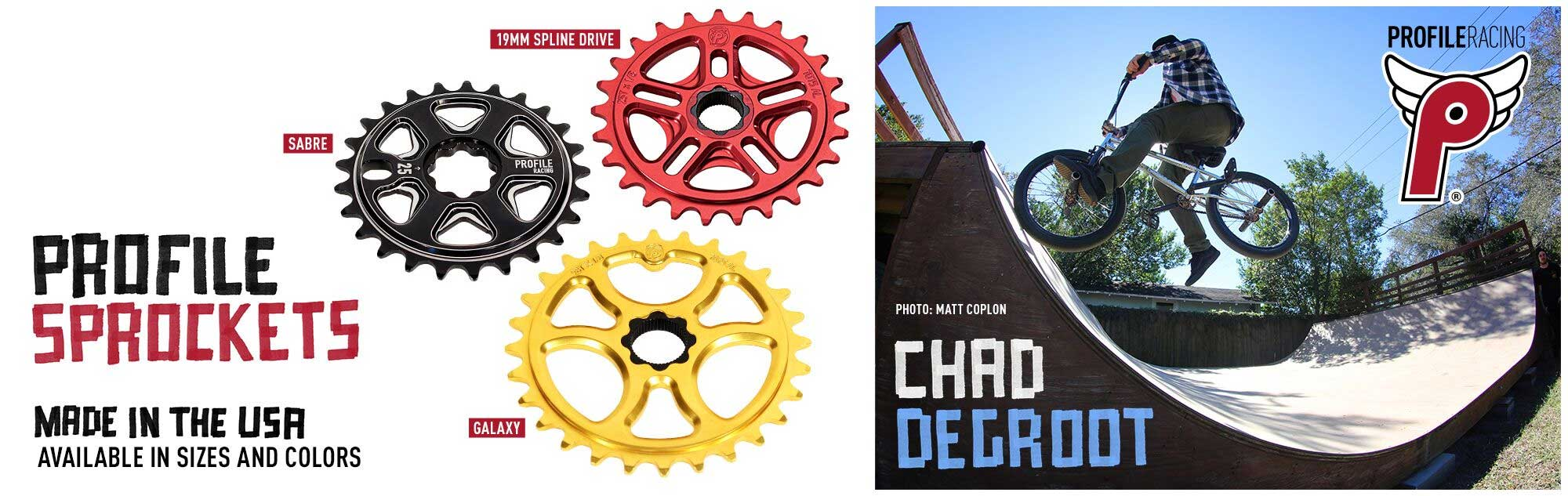 Profile Racing Sprockets available at Albe's BMX Online