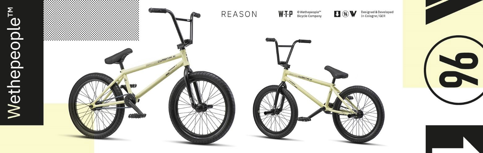 We The People Reason Bike at Albe's BMX Online